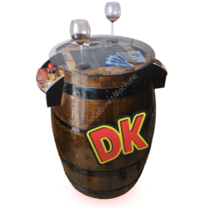 Barrel Kong- Barrique-Donkey Kong-Botte-Rovere-Arcade-Design-Cabinet-Machine-MAME-Hot Toys-Hyperspin-Super Mario-Cocktail-Game-Games Room-Table-Cave