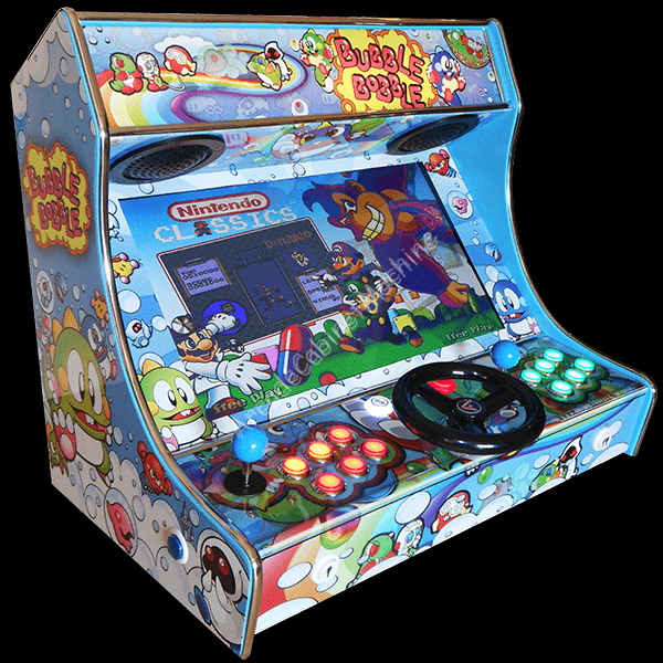 Mini-Bartop-All-in-One-arcade-cabinet-machine-mame-hyperspin-weecade-artwork-bubble-bobble-puzzle