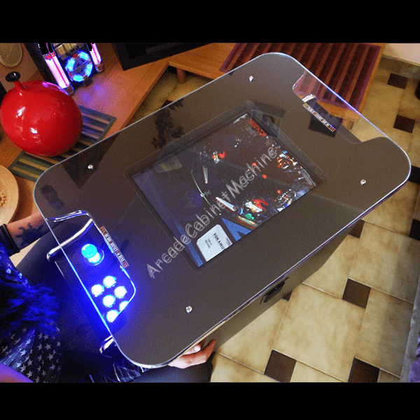 how to build a cocktail arcade cabinet