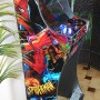 Arcade-Cabinet-Machine-Spider Man- New-Bartop-Pedestal-All-in-One-Steering Wheel-Hyperspin-Maximus-Hot-Toys-MAME