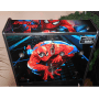 Arcade-Cabinet-Machine-Spider Man- New-Bartop-Pedestal-All-in-One-Steering Wheel-Hyperspin--Retro-Maximus-Hot-Toys-MAME-Pinball-Marquee