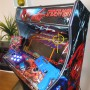 Arcade-Cabinet-Machine-Spider Man- New-Bartop-Pedestal-All-in-One-Steering Wheel-Hyperspin-Time Crisis-Hot-Toys-MAME-Pinball-Marquee