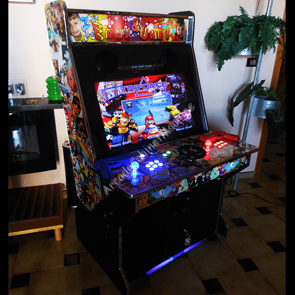 Showcase Sit Down Arcade Cabinet Machine