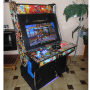 arcade cabinet machine-street fighter-Bartop-Arcade-Cabinet-MAME-Hyperspin-Gold-Hot-Toys-Gam-Room