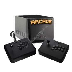 G-cube Console + Arcade Fighting Stick