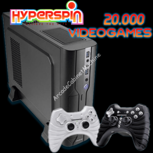 Console Slim Arcade - Hyperspin 2019