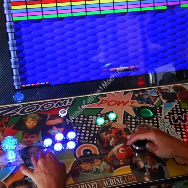 Showcase Sit Down Hyperspin 8tb Arcade Cabinet Machine