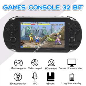 Games Console Portatile 32 Bit giochi inclusi